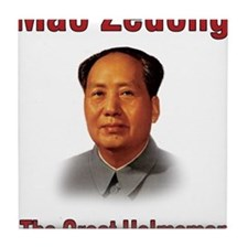 Mao Zedong Tile Coaster