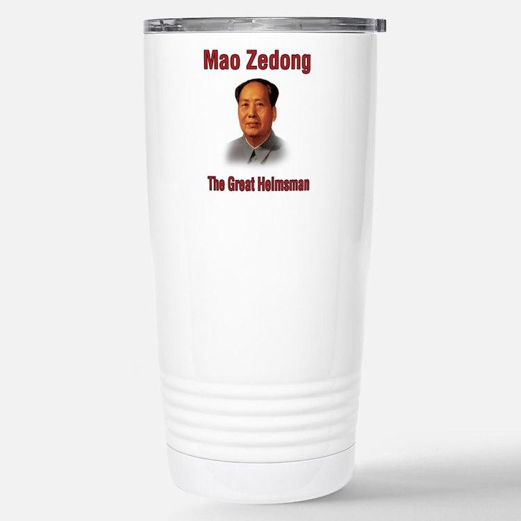 Mao Zedong Stainless Steel Travel Mug