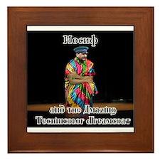 Joseph Dreamcoat Framed Tile