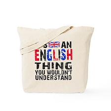 English Thing Tote Bag