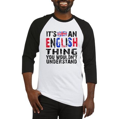English Thing Baseball Jersey