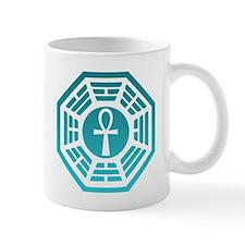 Dharma Blue Ankh Small Mug