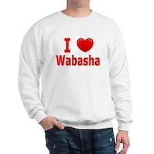 I Love Wabasha Sweatshirt