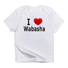 I Love Wabasha Infant T-Shirt