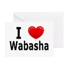 I Love Wabasha Greeting Card