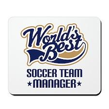 Soccer Team Manager Mousepad