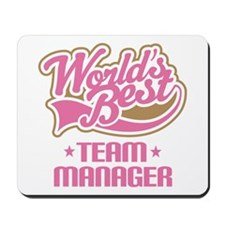 Team Manager Mousepad