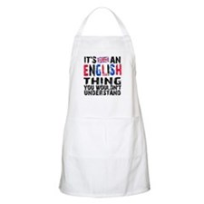 English Thing Apron