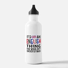 English Thing Water Bottle