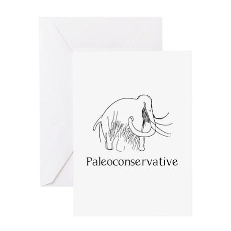 Paleoconservative Greeting Card
