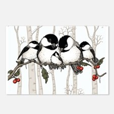 Chickadee Family Postcards (Package of 8)