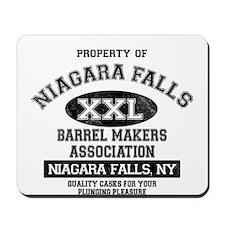 Niagara Falls Barrel Makers Mousepad