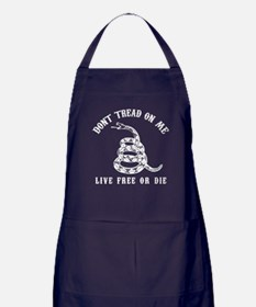 Don't Tread On Me Apron (dark)