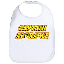 Captain Adorable Bib