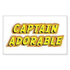 Captain Adorable Decal
