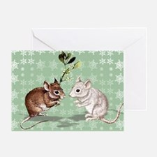 'Holly and Ivy' Greeting Card