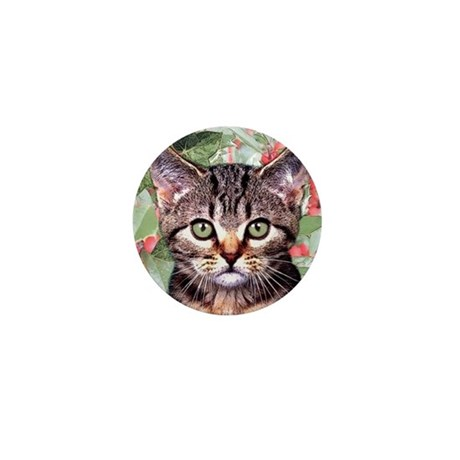 'Holly and Ivy' Mini Button (10 pack)