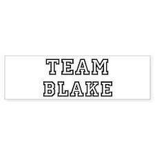 Team Blake Bumper Bumper Sticker