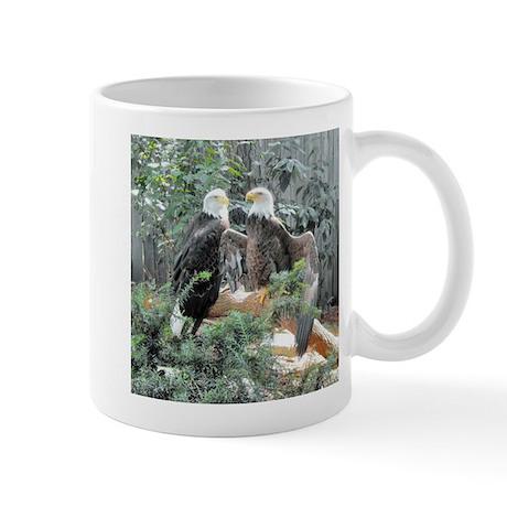 Bald Eagles in the Sun Mug
