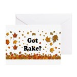 Got Rake? Greeting Cards (Pk of 20)