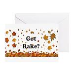 Got Rake? Greeting Card