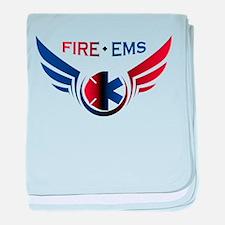 Flying Fire & EMS baby blanket