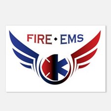Flying Fire & EMS Postcards (Package of 8)