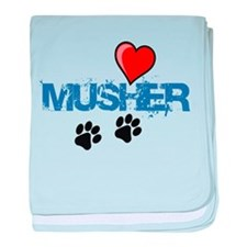 Cool Musher baby blanket