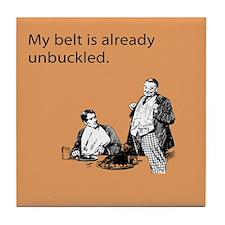 Unbuckled Belt Tile Coaster