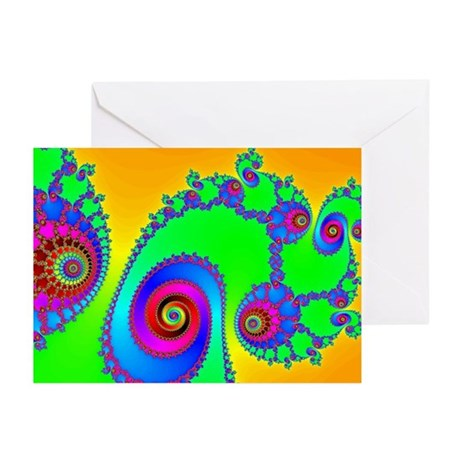 Pop Art Spiral Greeting Cards (Pk of 10)