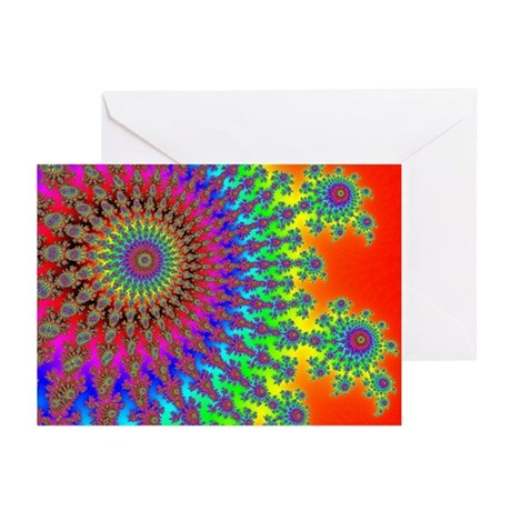 Rainbow Fireworks Greeting Cards (Pk of 10)