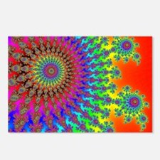 Rainbow Fireworks Postcards (Package of 8)