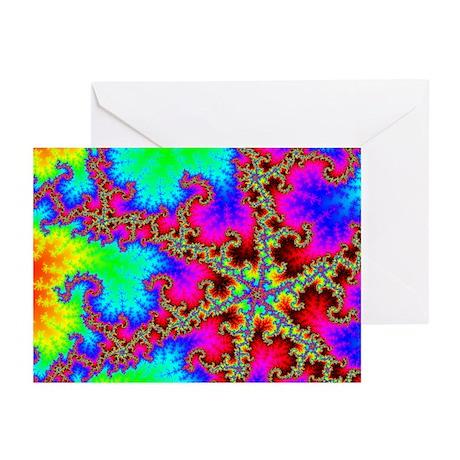 Acidic Lightning Greeting Cards (Pk of 20)