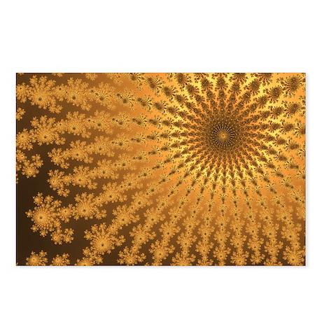 Golden Fireworks Postcards (Package of 8)