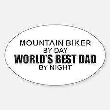 World's Greatest Dad - Mountain Biker Decal