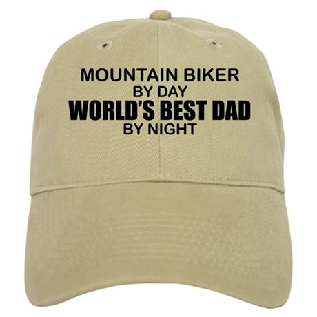 World's Greatest Dad - Mountain Biker Cap