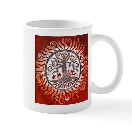Red Tree of Life Mug