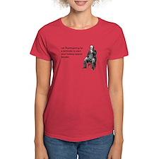 Thanksgiving Bender Women's Dark T-Shirt