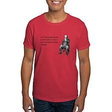 Thanksgiving Bender Dark T-Shirt