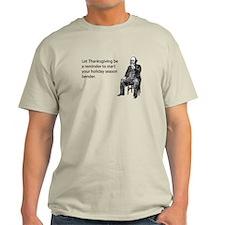 Thanksgiving Bender Light T-Shirt