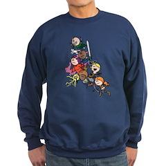 OOTS Attacks! Sweatshirt (navy)