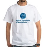 Atheist foundation Mens White T-shirts