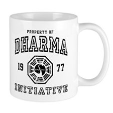 Property of Dharma 77 Small Mugs