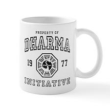Property of Dharma 77 Small Mugs