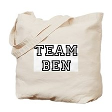 Team Ben Tote Bag