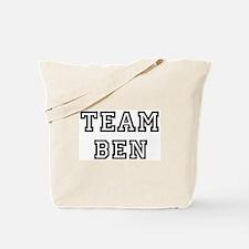 Team Ben Tote Bag