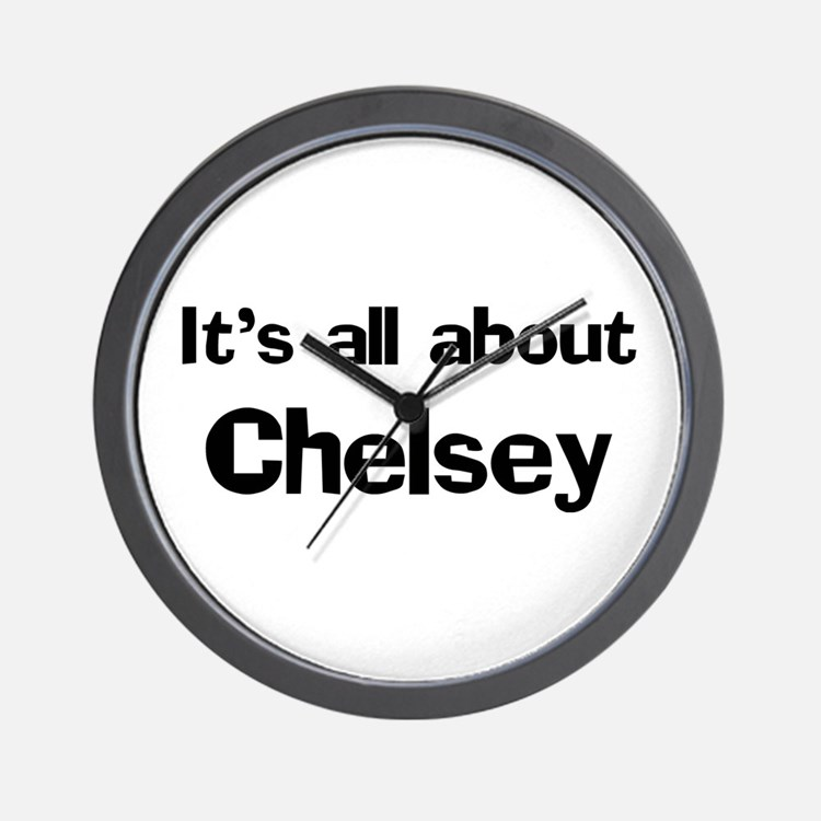It's all about Chelsey Wall Clock