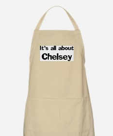 It's all about Chelsey BBQ Apron
