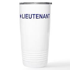 EMS Lieutenant Travel Mug