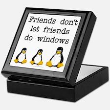 Friends don't let friends... Keepsake Box